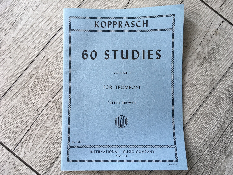 KOPRASCH - 60 studies for Trombone Vol. 1