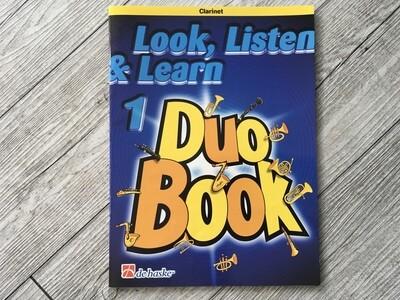 DE HASKE - Ascolta leggi e suona Duo book Clarinetto Vol. 1