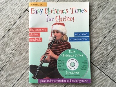 CHESTER MUSIC - Easy Christmas tuner for clarinet