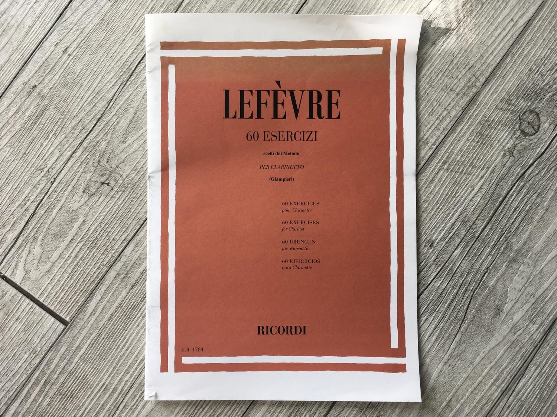 LEFÈVRE - 60 esercizi per clarinetto