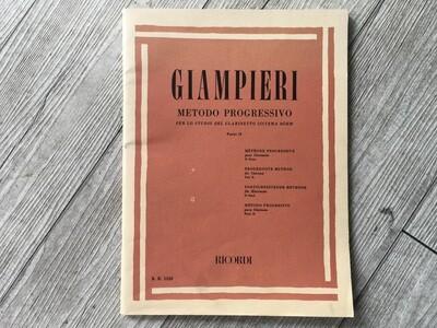 GIAMPIERI - Metodo progressivo per clarinetto Vol. 2