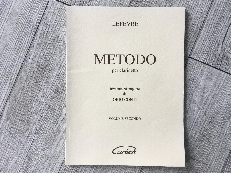 LEFÈVRE -Metodo per clarinetto Vol. 1