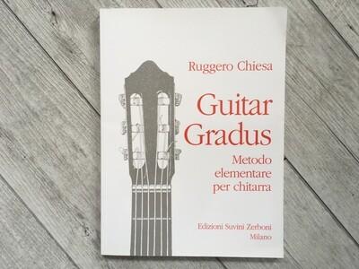 RUGGERO CHIESA - Guitar gradus metodo completo per chitarra