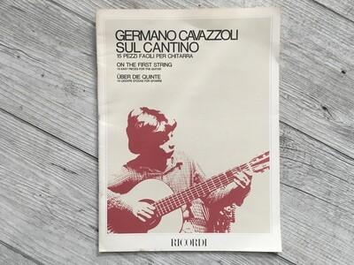 GERMANO CAVAZZOLI - Sul cantino 15 Pezzi facili per chitarra