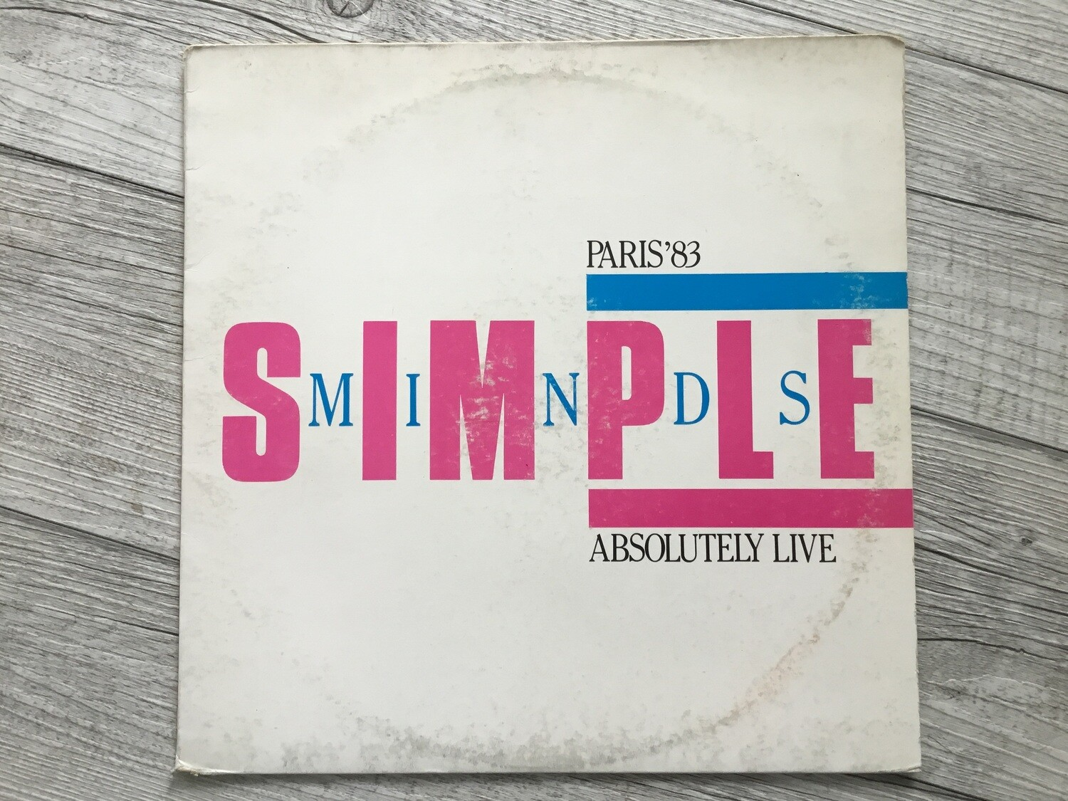 Simple Minds - Absolutely live