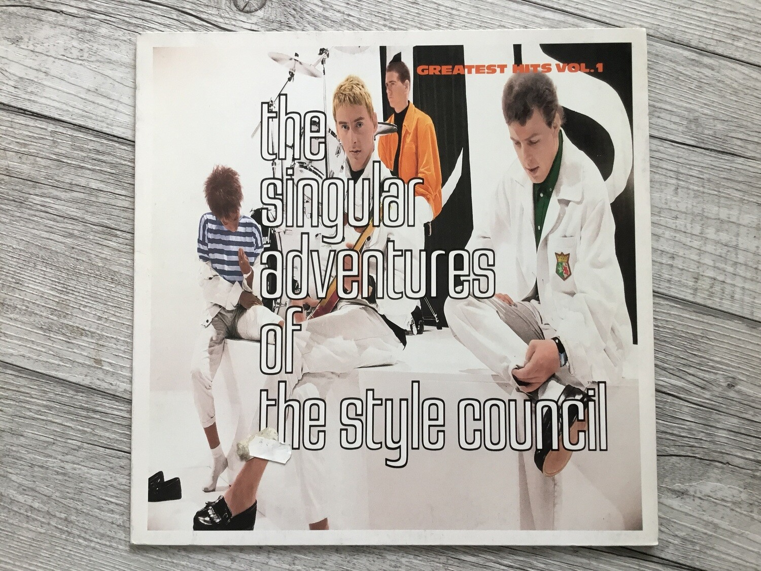 THE STYLE COUNCIL – The Singular Adventures Of The Style Council reatest Hits Vol. 1