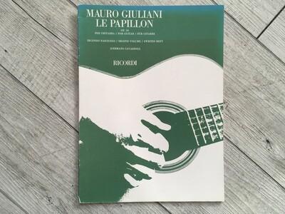 MAURO GIULIANI - Le papillon per chitarra Vol. 2 Op. 50