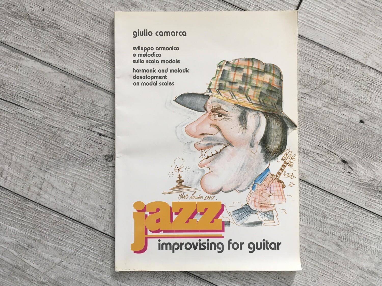 GIULIO CAMARCA - Jazz improvising for guitar