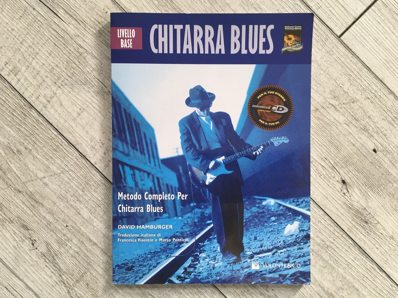 DAVID HAMBURGER - Metodo completo per chitarra blues livello base