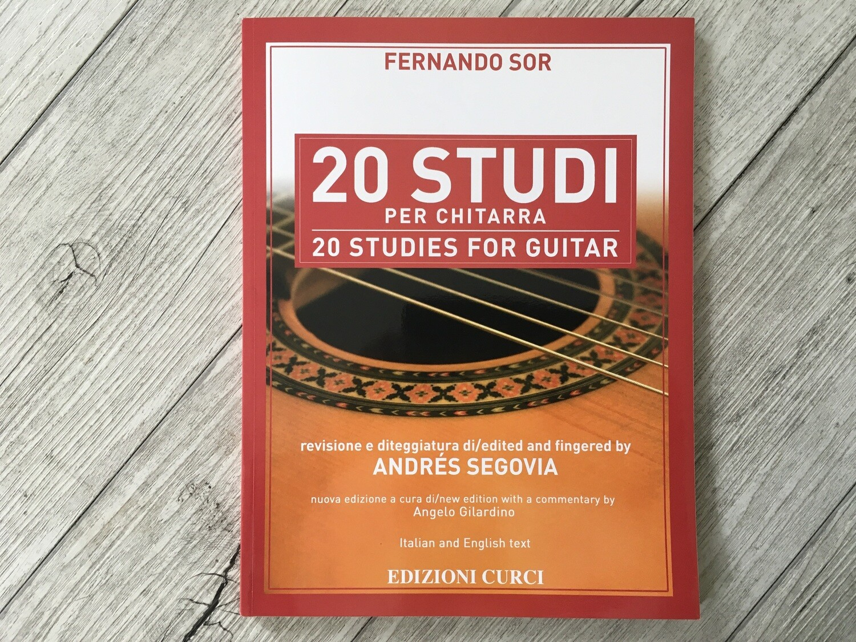 FERNANDO SOR - 20 Studi per chitarra