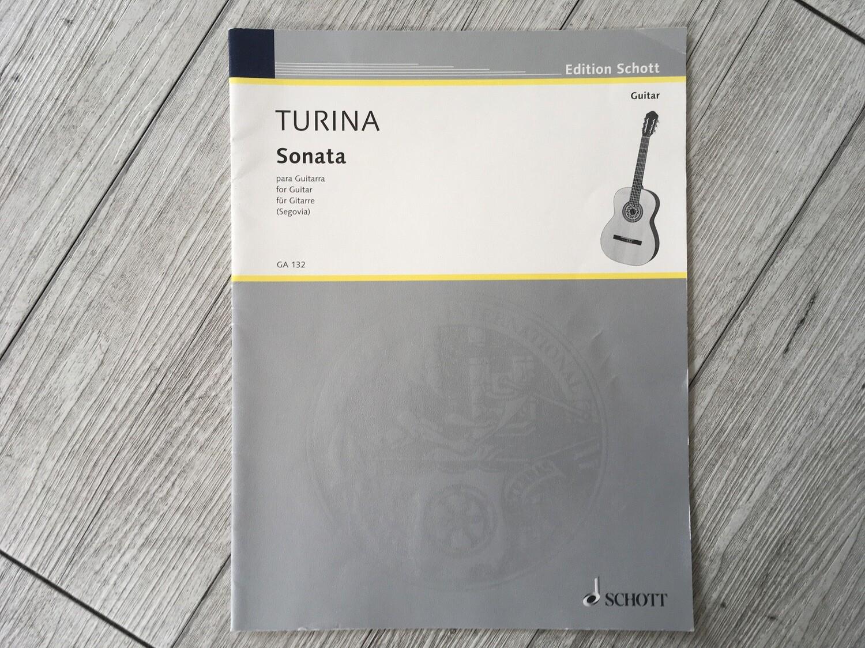 TURINA - Sonata chitarra