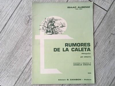 ISAAC ALBENIZ - Rumores de la caleta per chitarra