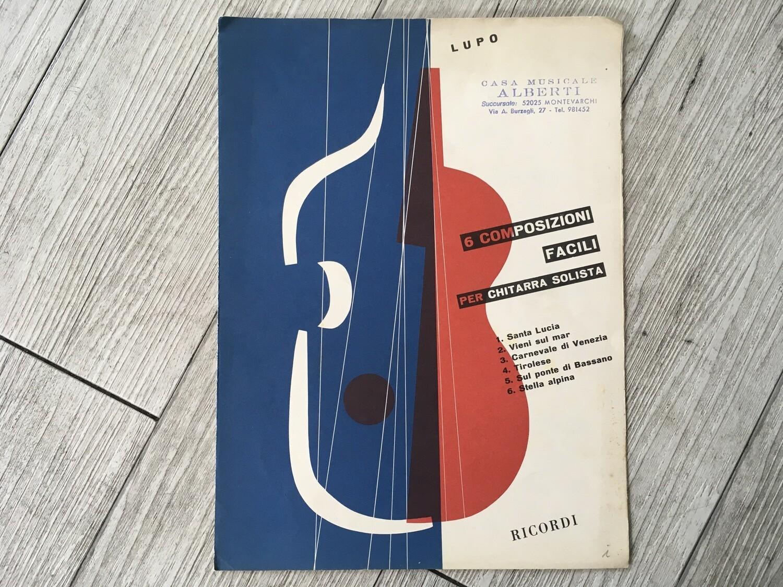 LUPO - 6 composizioni facili per chitarra solista
