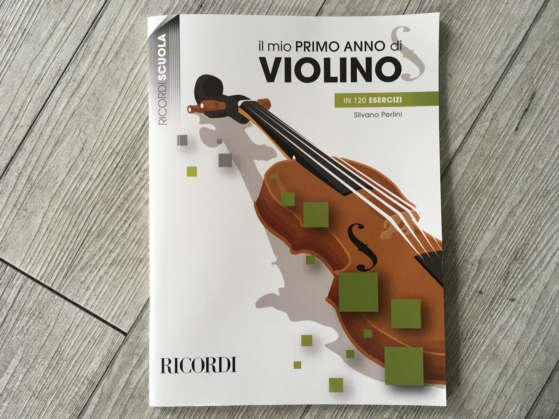SILVANO PERLINI - Il mio primo anno di violino in 120 esercizi