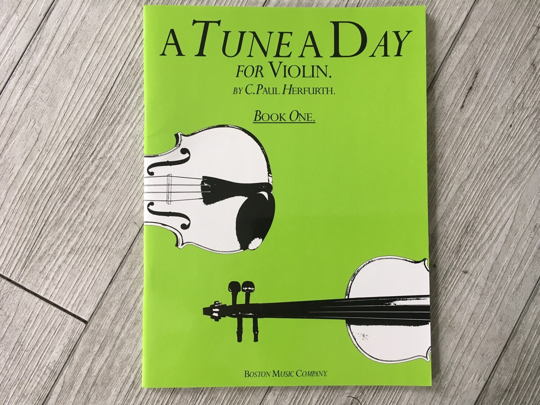 C. PAUL HRFURTH - A tune a day per violino