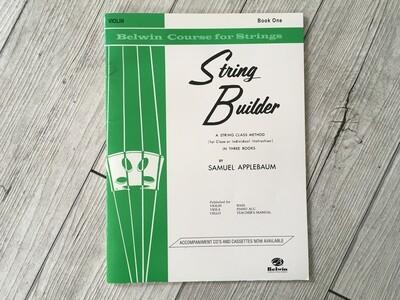 SAMUEL APPLEBAUM - String builder per violino Vol. 1