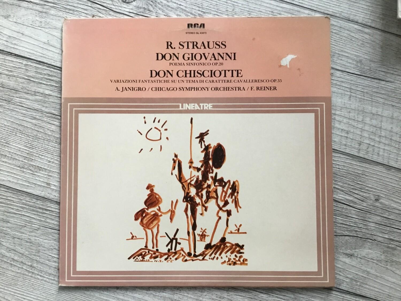 R. STRAUSS - Don GIovanni, Don Chisciotte