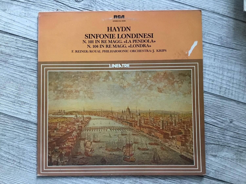 HAYDN, J. KRIPS - Sinfonie Londinesi