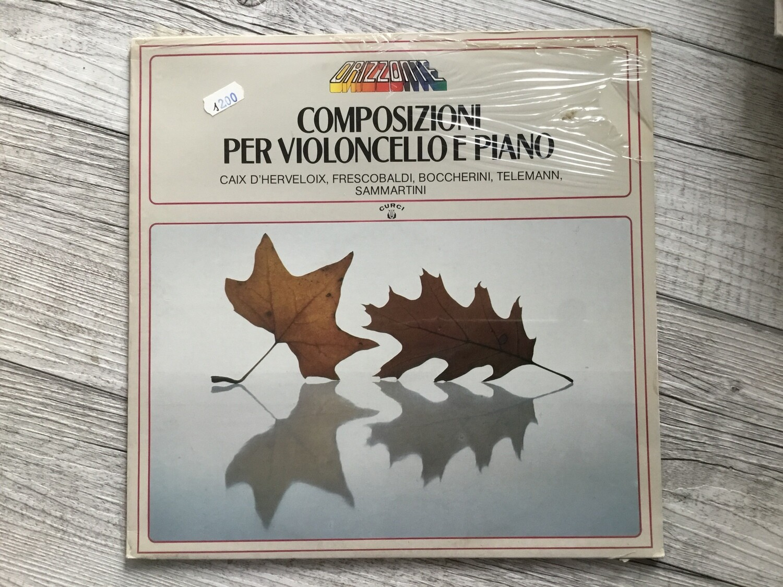 COMPOSIZIONI PER VIOLONCELLO E PIANO