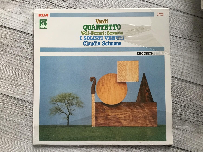 VERDI, CLAUDIO SCIMONE - Quartetto