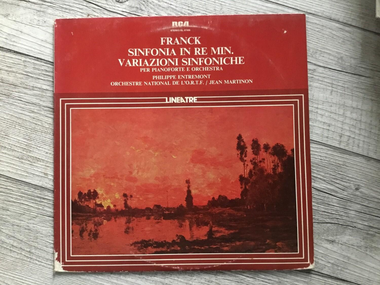 FRANCK, J. MARTINON - Sinfona in Re Min.