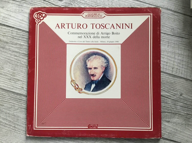 ARTURO TOSCANINI - Commemorazione di Arrigo Boito