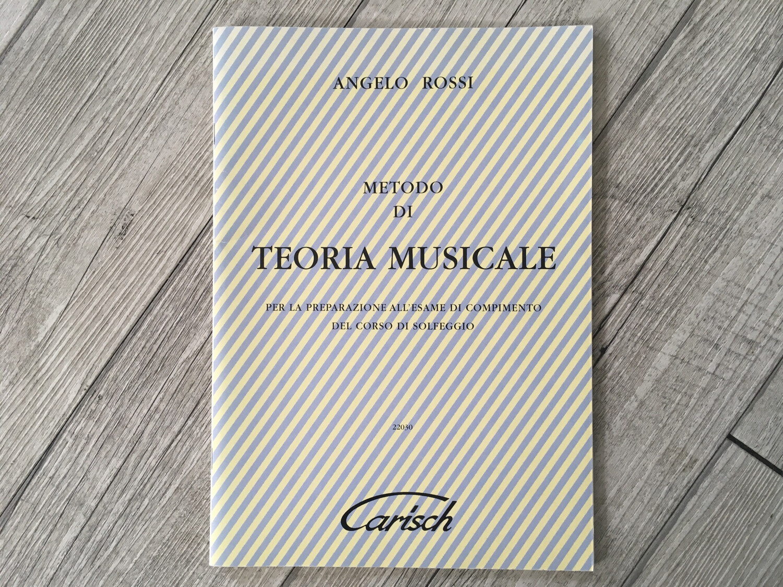 ANGELO ROSSI - Metodo di teoria musicale