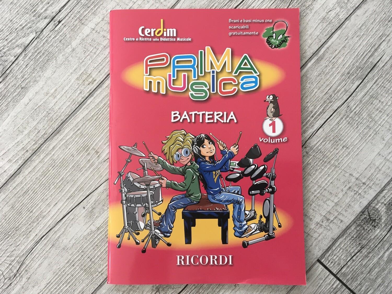 PRIMA MUSICA - Batteria Vol.1