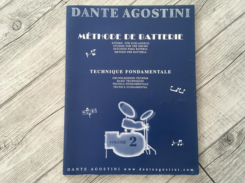 DANTE AGOSTINI - Methode de batterie Vol. 2