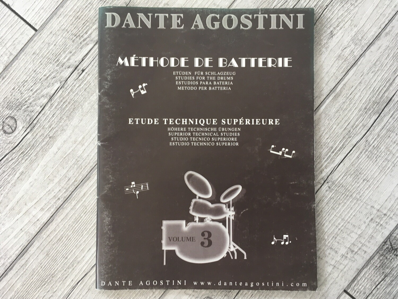 DANTE AGOSTINI - Methode de batterie Vol. 3