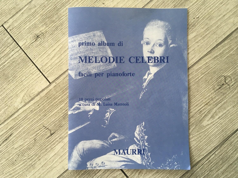 M. LUISA MATTEOLI - Primo album di melodie celebri facili per pianoforte
