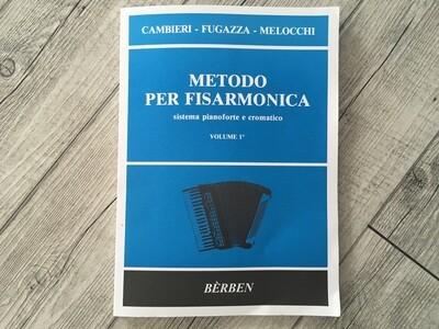 GAMBERI FUGAZZA MELOCCHI - Metodo per Fisarmonica Vol. 1