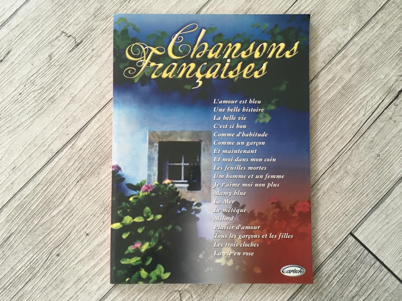 CHANSON FRANCAISES - Per Piano e voce