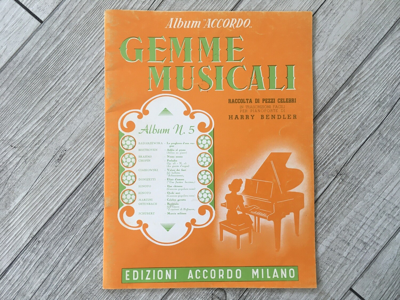 HARRY BENDLER - Gemme musicali per pianoforte Vol. 5