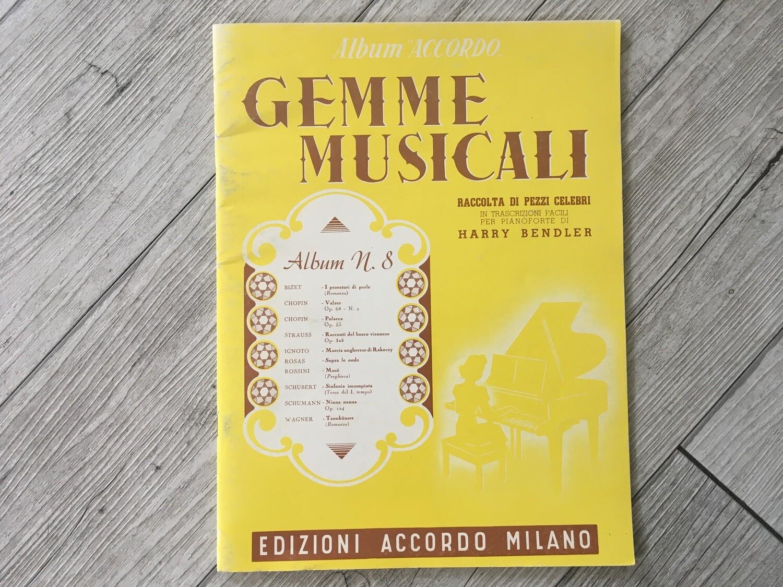 HARRY BENDLER - Gemme musicali per pianoforte Vol. 8