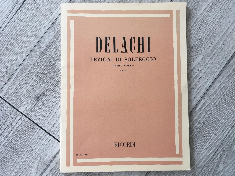 DELAGHI - Lezioni di solfeggio Vol. 1