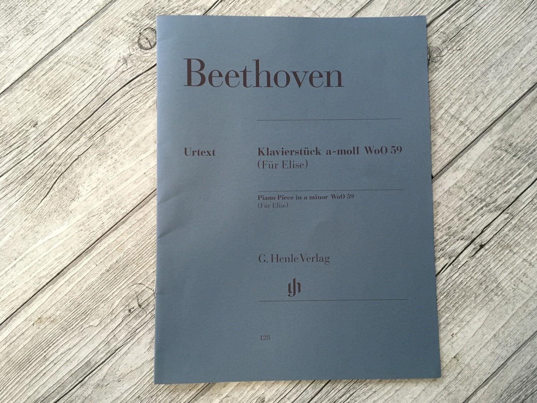 BEETHOVEN - Per Elisa per pianoforte