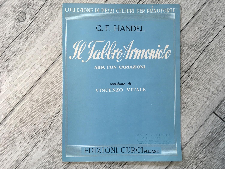 G.F. HANDEL - Il fabbro armonioso aria con variazioni per pianoforte