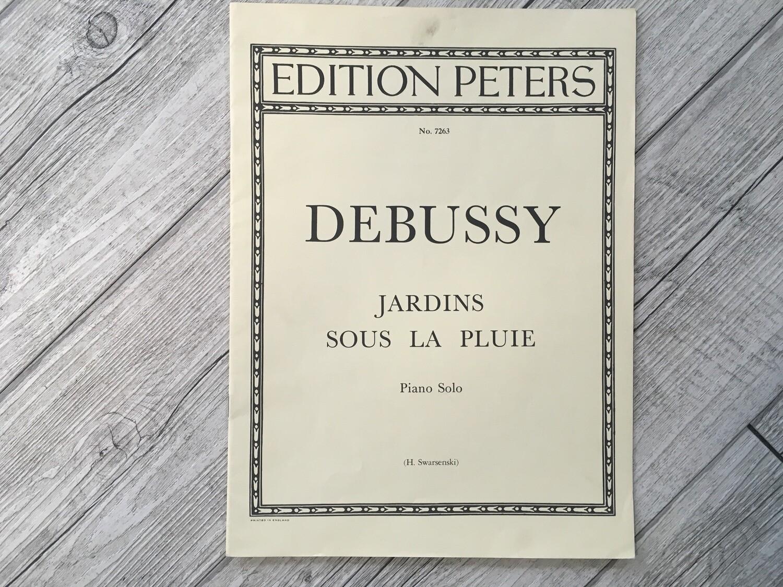 DEBUSSY - Jardins sous la pluie per Piano