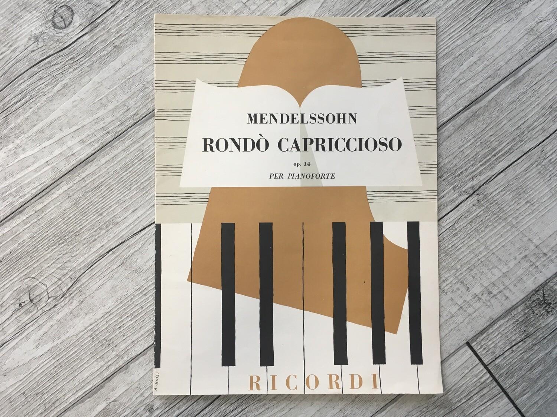MENDELSSOHN - Rondó capriccioso per pianoforte Op. 14
