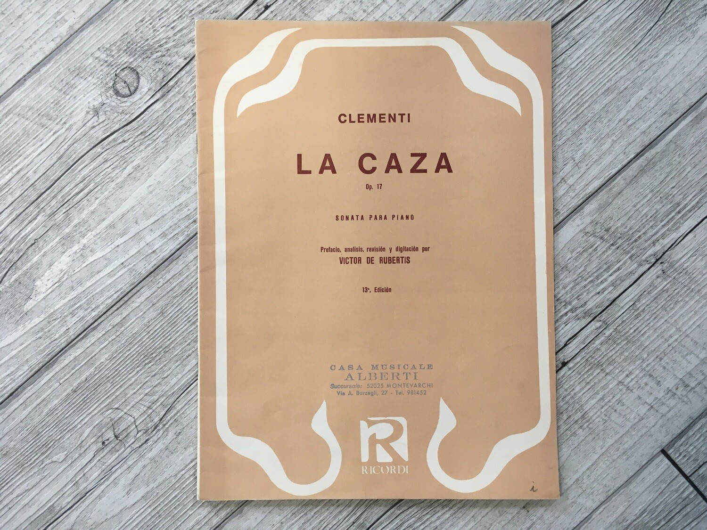 CLEMENTI - La caza Op. 17