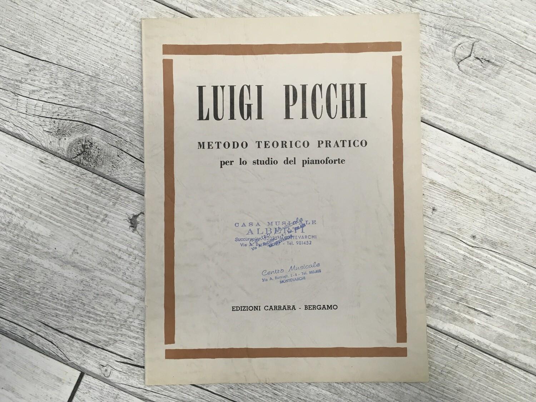 LUIGI PICCHI - Metodo teorico pratico per lo studio del pianoforte