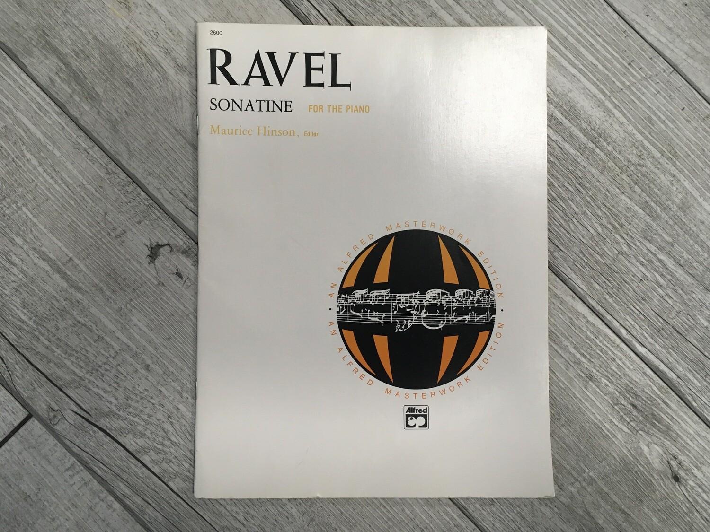 RAVEL - Sonatine per piano