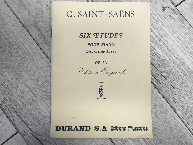 C. SAINT SAENS - Six etudes per Piano Op. 111