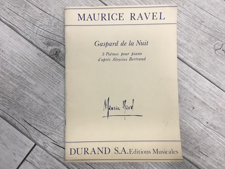 MAURICIE RAVEL - Gaspard de la nuit