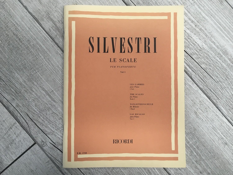 SILVESTRI - Le scale per pianoforte Vol. 1