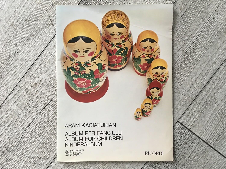 ARAM KACIATURIAN - Album per fanciulli