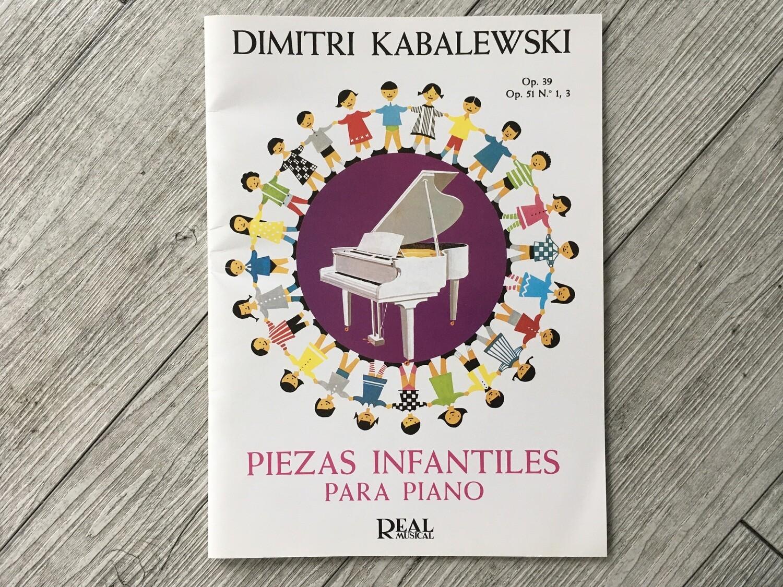 DIMITRI BABALEWSKI - Piezas infantile per piano Op. 39 Op. 51 N 1, 3