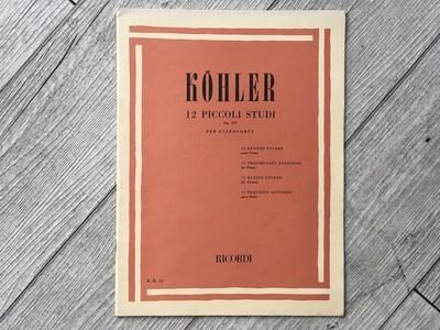 KOHLER - 12 studi piccoli studi Op. 157