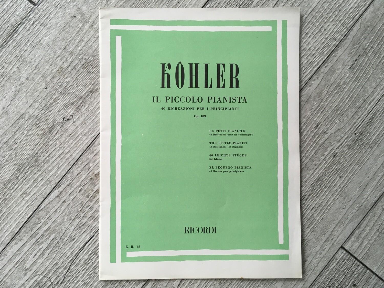 KOHLER - Il piccolo pianista Op. 189